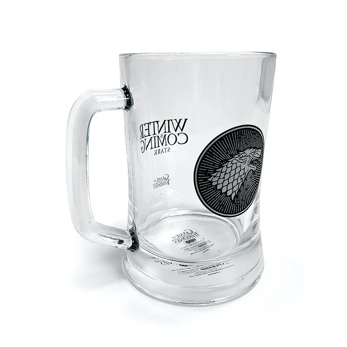 Game of Thrones Glass Stein House Stark Sparkle Gift