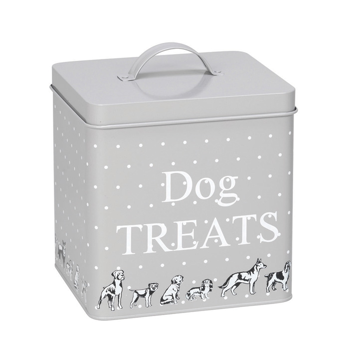 House of Paws Polka Dogs Treat Tin Small Sparkle Gift