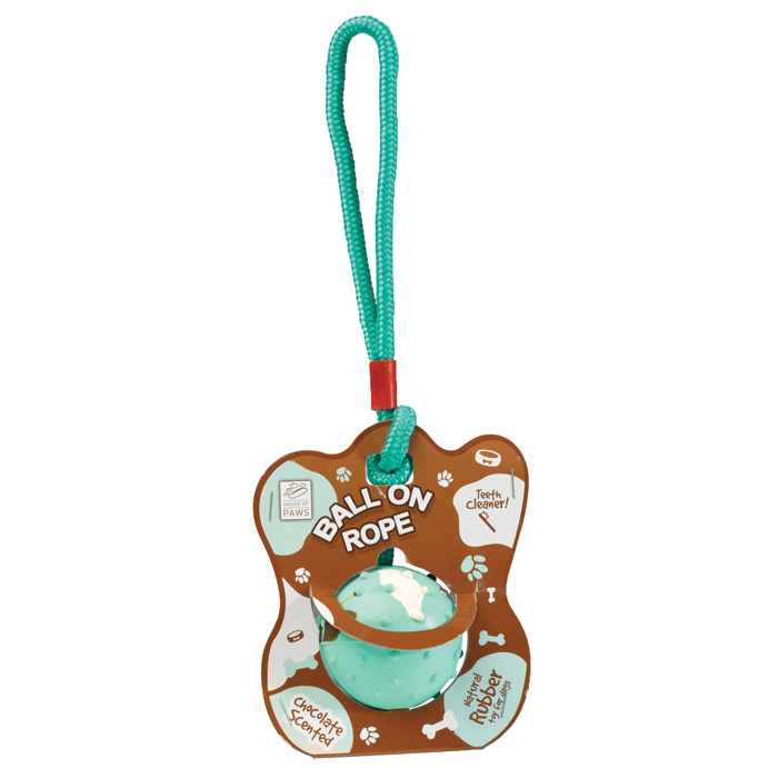 House of Paws Ball On Rope Sparkle Gift