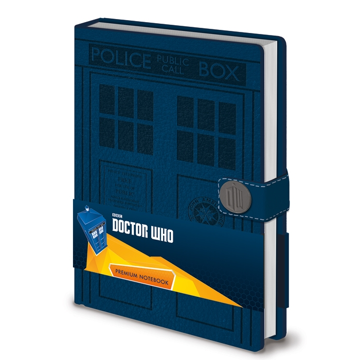 Doctor Who Premium A5 Notebook Tardis Sparkle Gift