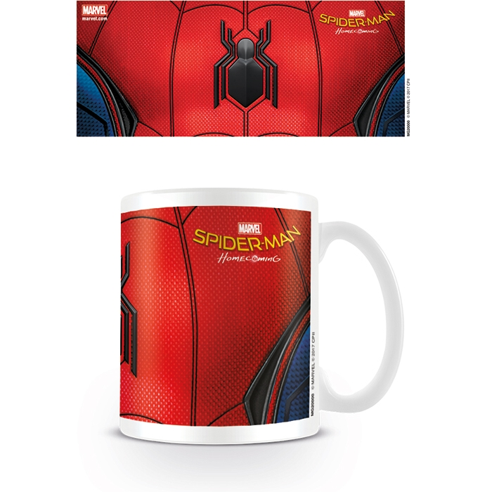 Marvel Boxed Mug Spider-Man Homecoming Chest Sparkle Gift