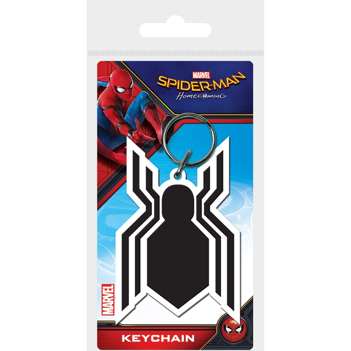 Marvel Keyring Spider-Man Homecoming Symbol Sparkle Gift