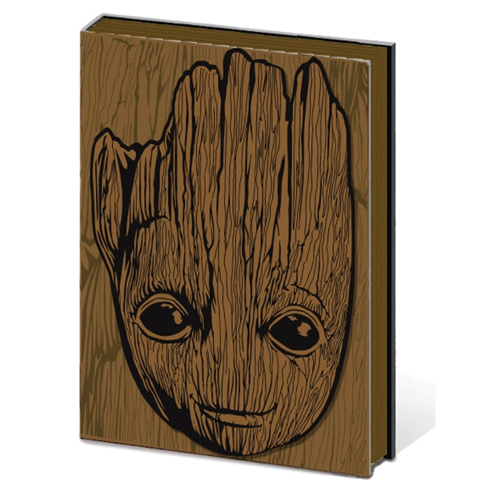 Marvel Premium A5 Notebook Groot Sparkle Gift