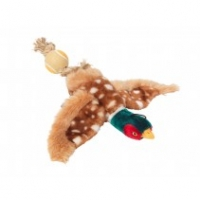 House of Paws Pheasant With Rope Tail & Tennis Bal Sparkle Gift