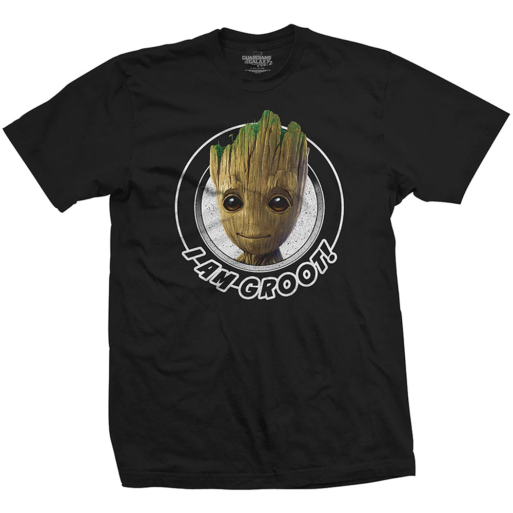 Marvel T Shirt Guardians Vol 2 I Am Groot Mens S Sparkle Gift