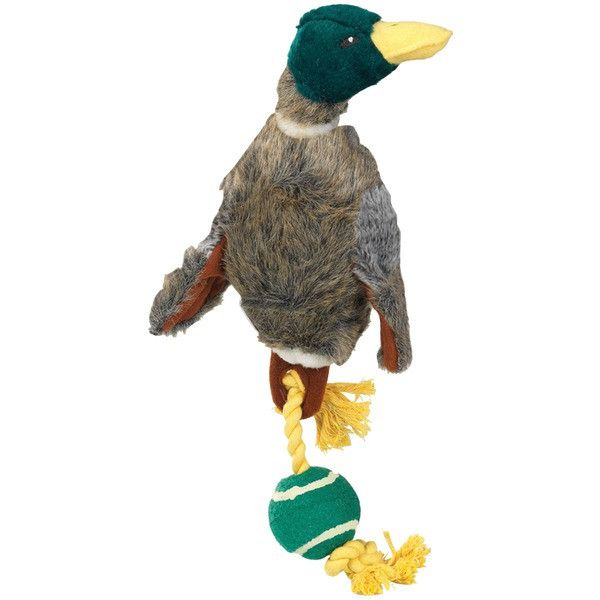 House of Paws Duck With Rope Tail & Tennis Ball Sparkle Gift