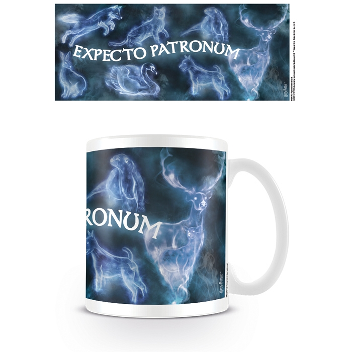 Harry Potter Boxed Mug Expecto Patronum Sparkle Gift