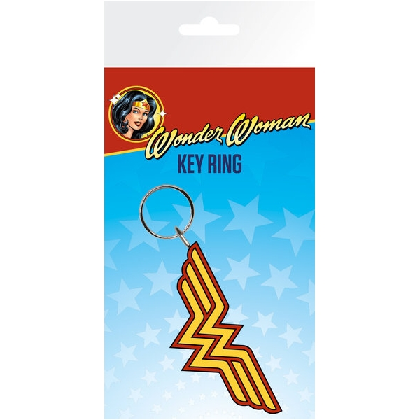 Wonder Woman Keyring Logo Sparkle Gift