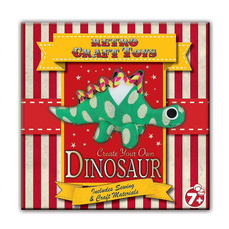 Vintage Red Create Your Own Dinosaur Sheet Music