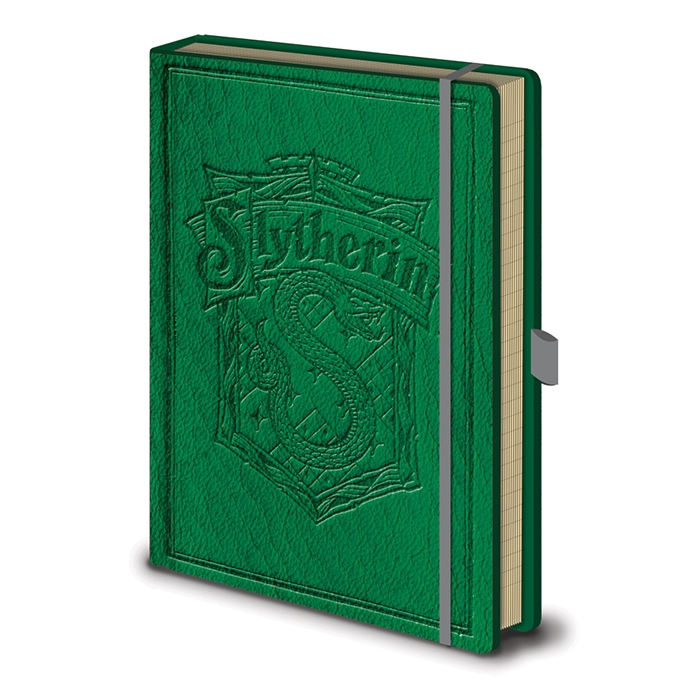 Harry Potter Premium A5 Notebook Slytherin Sparkle Gift