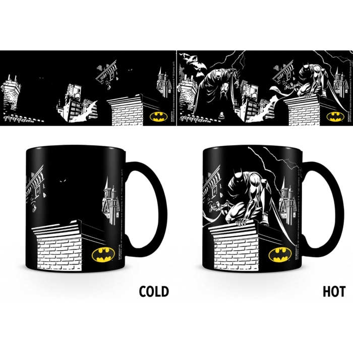 Batman Heat Change Mug Shadows Sparkle Gift