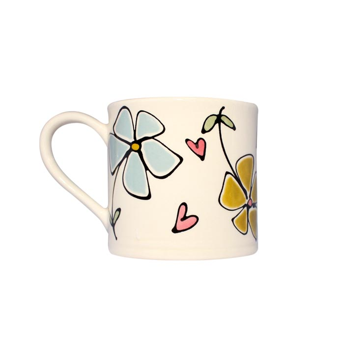 Gallery Thea Flora Large Mug Single Sparkle Gift