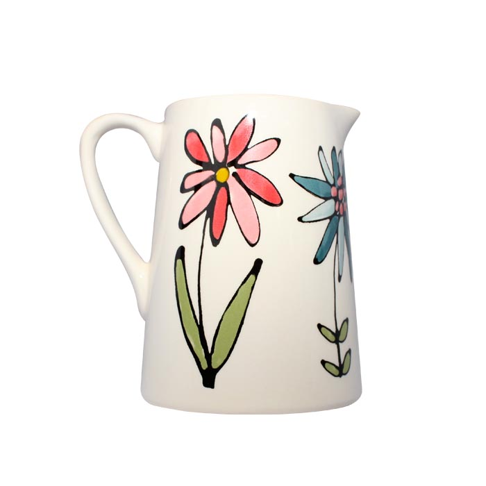 Gallery Thea Flora Small Jug 250ml Single Sparkle Gift