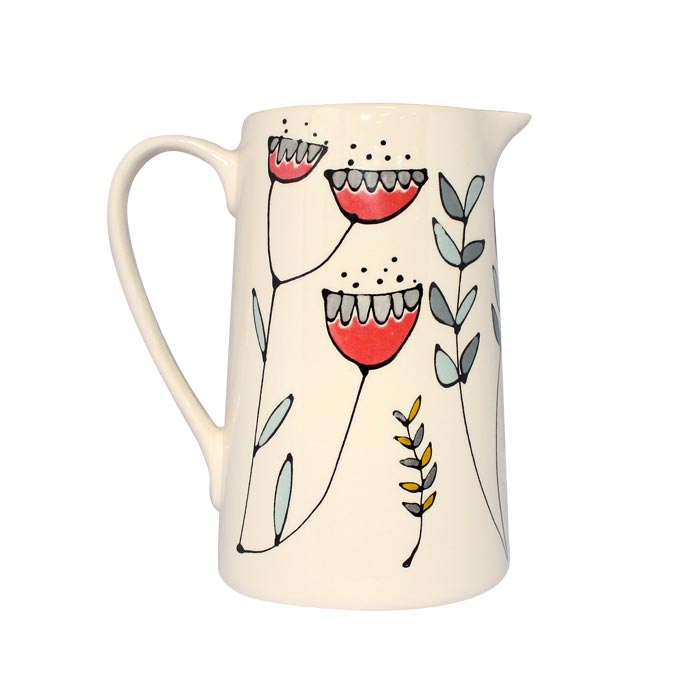 Gallery Thea Flora Large Jug 700ml Single Sparkle Gift
