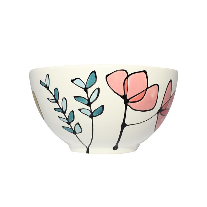 Gallery Thea Flora Small Bowl 13cm Single Sparkle Gift