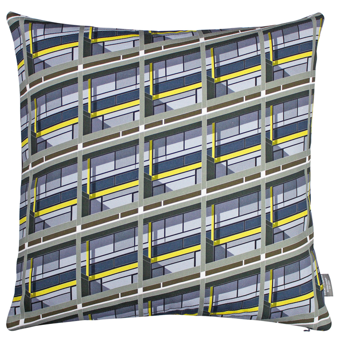 Oscar Francis Cushion Cover Wandsworth Art                   Sparkle Gift