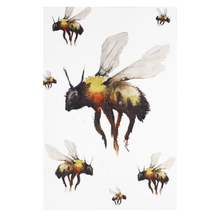 Meg Hawkins Tea Towel Bee Sparkle Gift