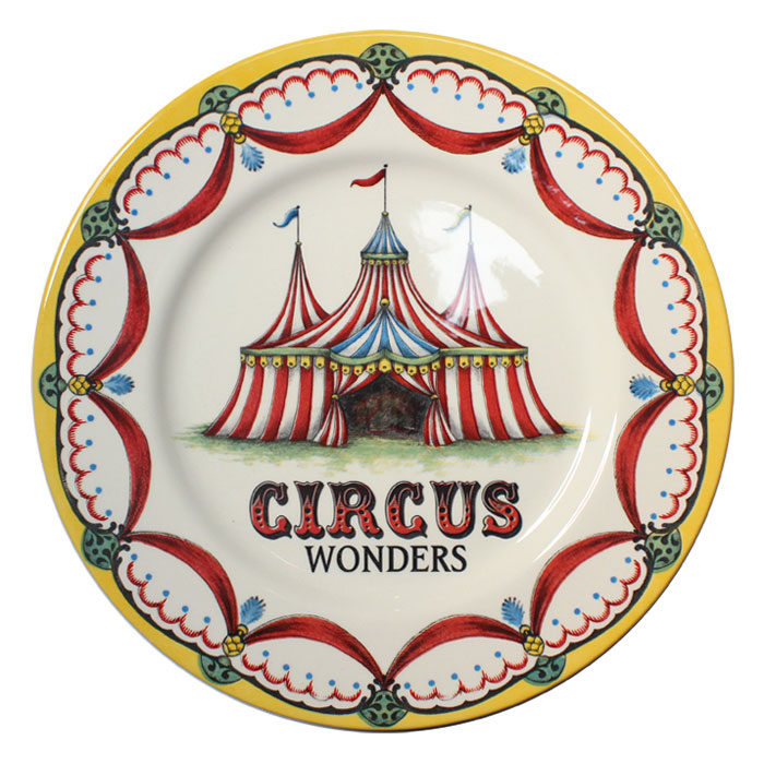 Royal Stafford Circus Wonders Dinner Plate Pack 6 Sparkle Gift