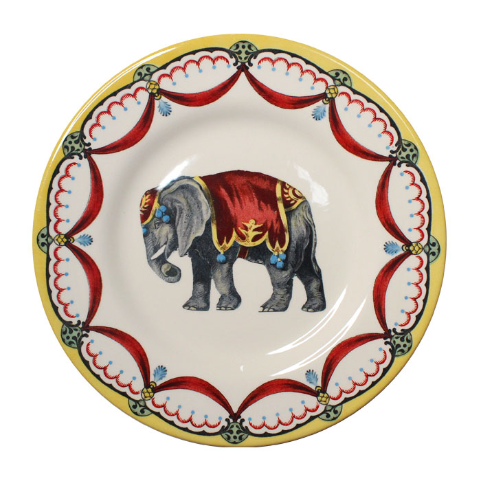 Royal Stafford Circus Wonders Side Plate Elephant Sparkle Gift