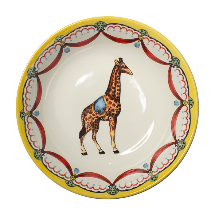 Royal Stafford Circus Wonders Cereal Bowl Giraffe Sparkle Gift