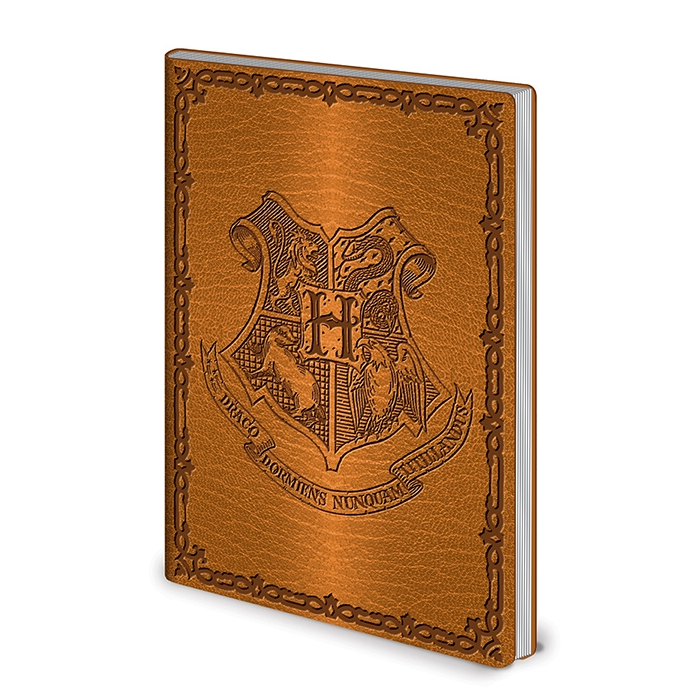 Harry Potter A5 Flexi Cover Notebook Hogwarts Sparkle Gift