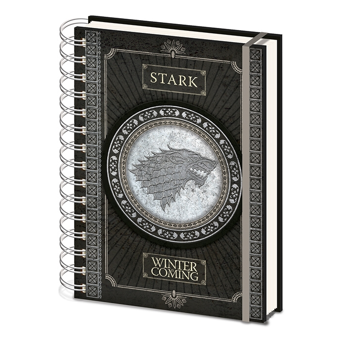 Game of Thrones A5 Notebook Stark                            Sprakle Gifts