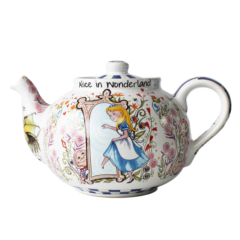 Teapot Alice Through The Looking Glass Medium Bett Sparkle Gift