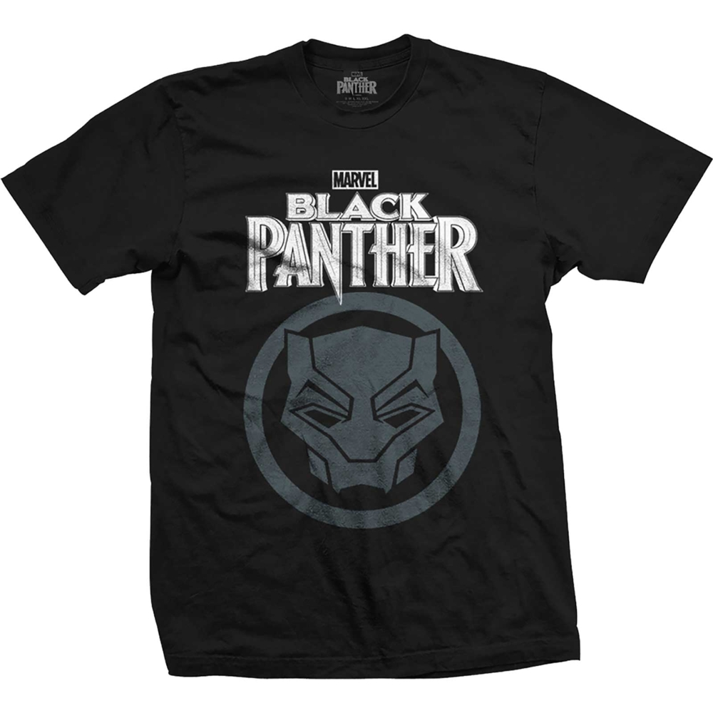Marvel T Shirt Black Panther Logo Mens Small                Sprakle Gifts