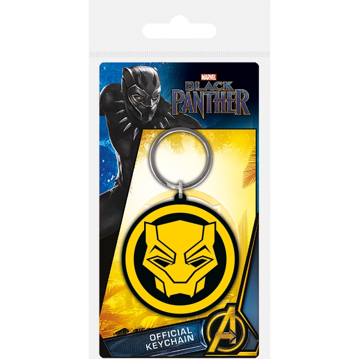 Marvel Keyring Black Panther Logo                            Sparkle Gift