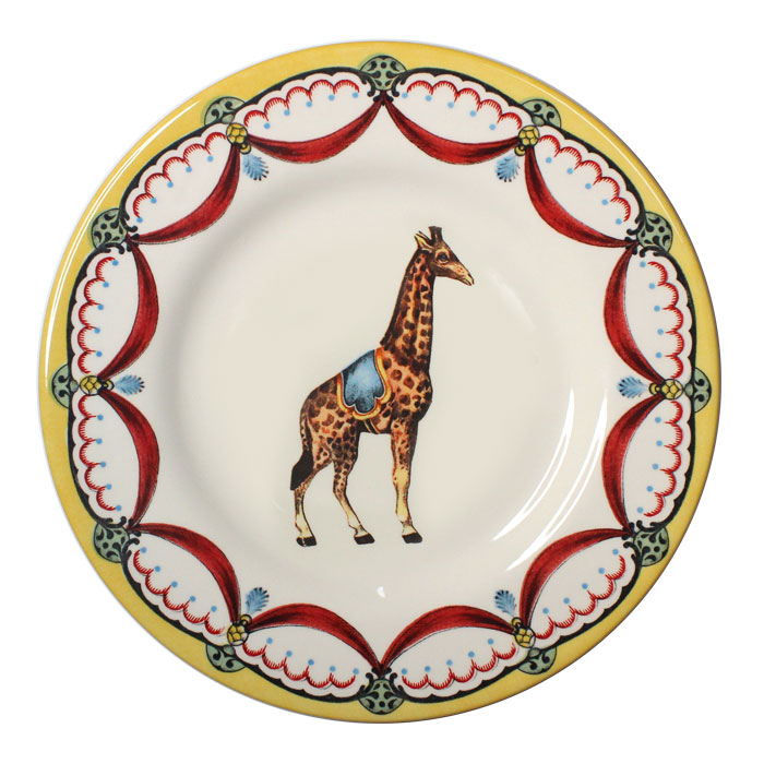 Royal Stafford Circus Wonders Side Plate Giraffe 6 Sparkle Gift