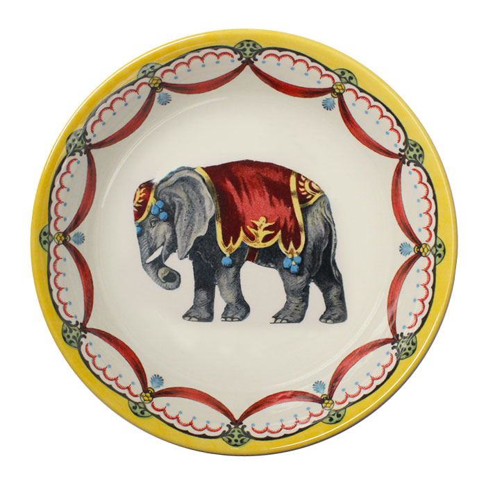 Royal Stafford Circus Wonders Cereal Bowl Elephant Sparkle Gift