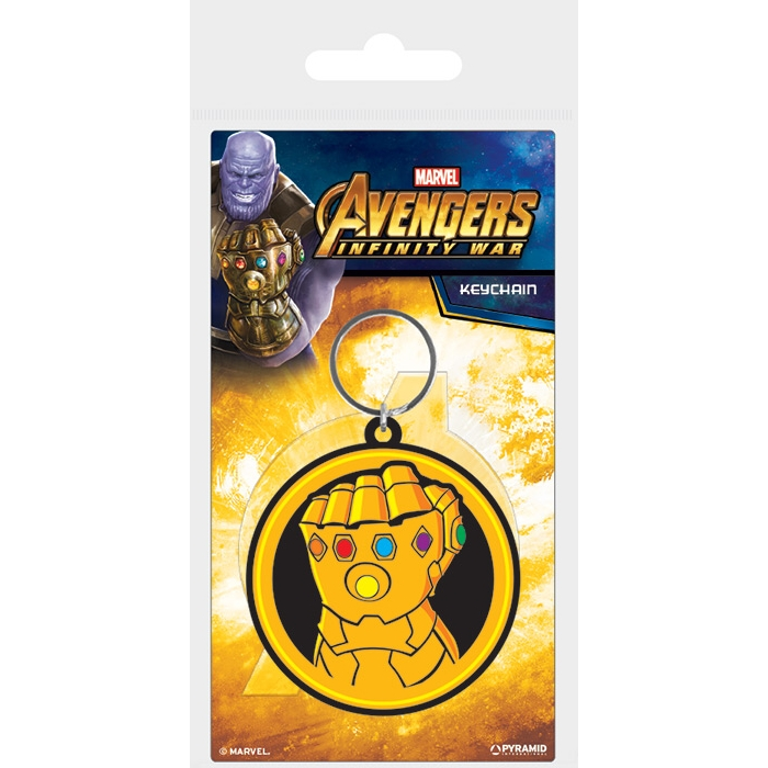 Marvel Keyring Avengers Infinity War Gauntlet                Sprakle Gifts