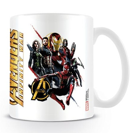 Marvel Boxed Mug Infinity War Ready For Action Sparkle Gift