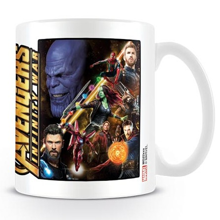 Marvel Boxed Mug Infinity War Space Montage Sparkle Gift
