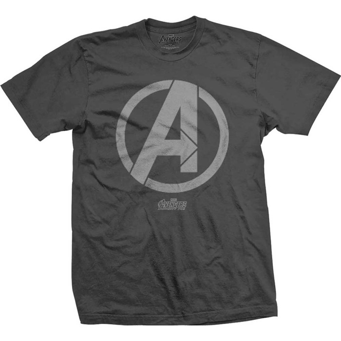 Marvel T Shirt Infinity War Avengers Logo Mens Md Sparkle Gift