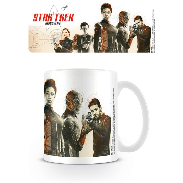 Star Trek Boxed Mug Discovery Crew Sparkle Gift