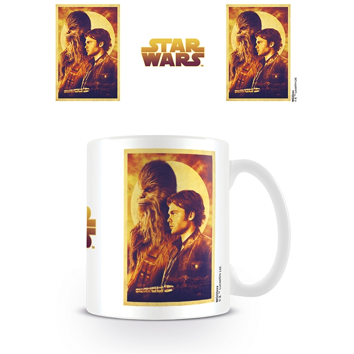 Star Wars Boxed Mug Solo Han & Chewie                        Sprakle Gifts