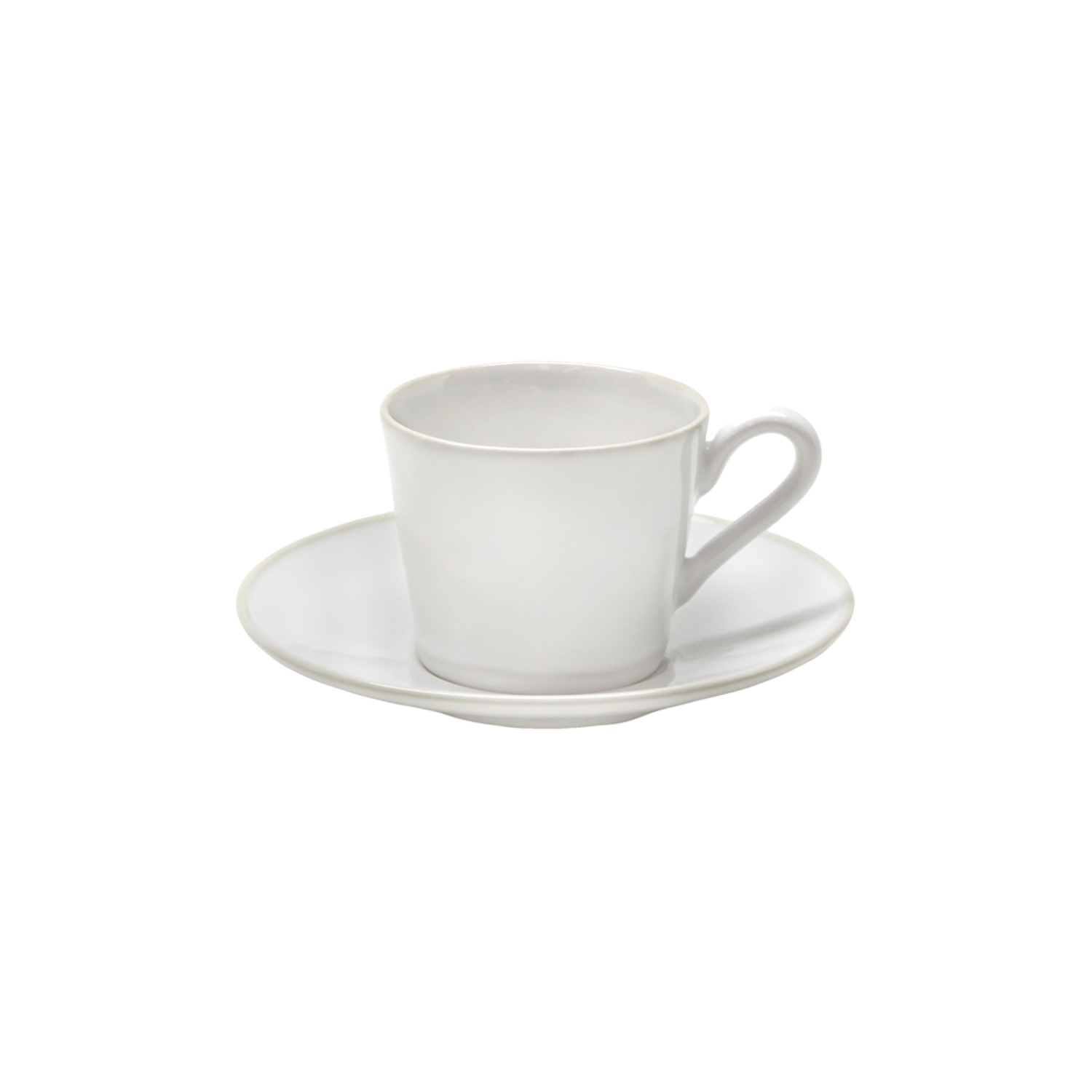 Astoria White Tea Cup & Saucer 0.18l Sparkle Gift