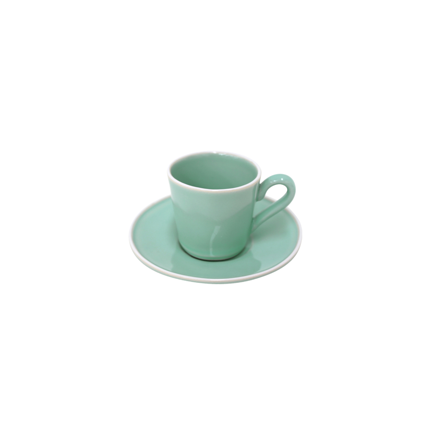 Astoria Mint Coffee Cup & Saucer 0.08l Sparkle Gift