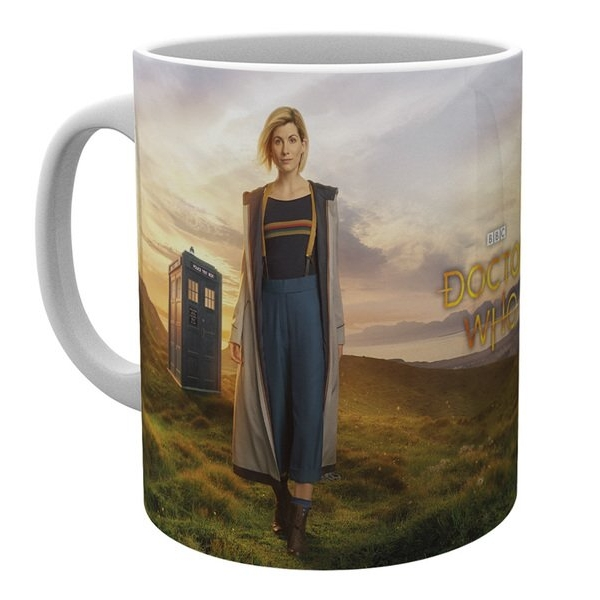 Doctor Who Boxed Mug 13th Doctor Sparkle Gift