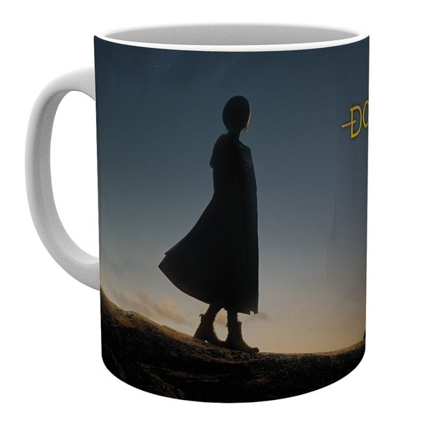 Doctor Who Boxed Mug 13th Doctor Silhouette Sparkle Gift