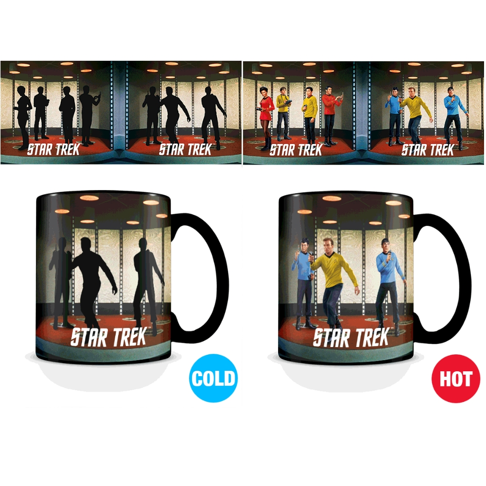 Star Trek Heat Change Mug Transporter July 18             Sprakle Gifts