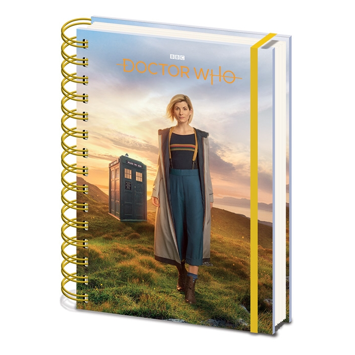 Doctor Who A5 Notebook 13th Doctor Sparkle Gift