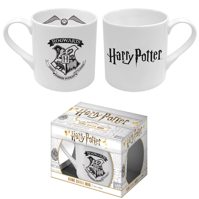 Harry Potter Bone China Mug Hogwarts Sparkle Gift