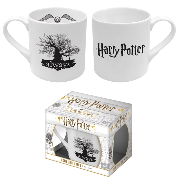 Harry Potter Bone China Mug Always Sparkle Gift