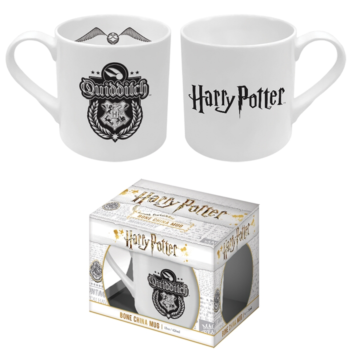 Harry Potter Bone China Mug Quidditch Sparkle Gift