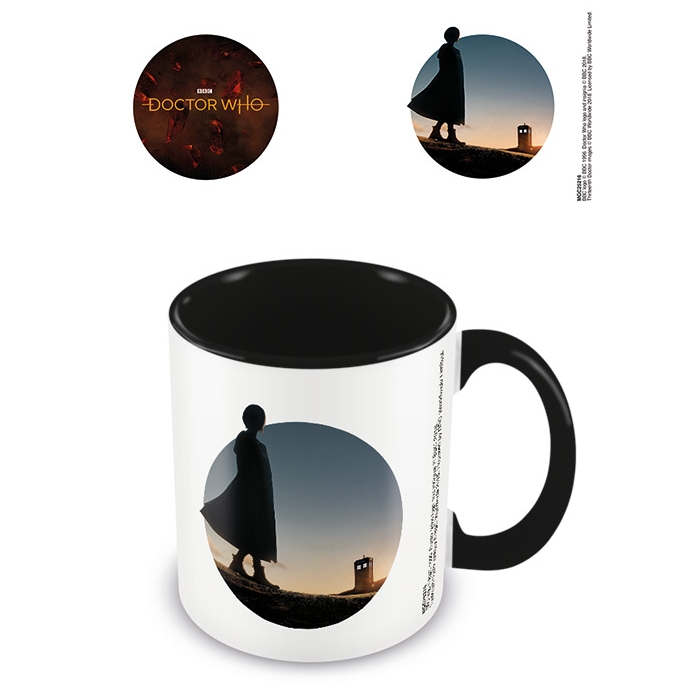 Doctor Who Boxed Mug Coloured Inner New Dawn Sparkle Gift