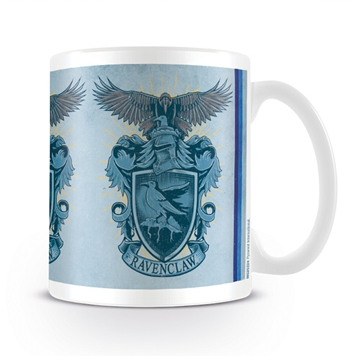 Harry Potter Boxed Mug Ravenclaw Eagle Crest Sparkle Gift