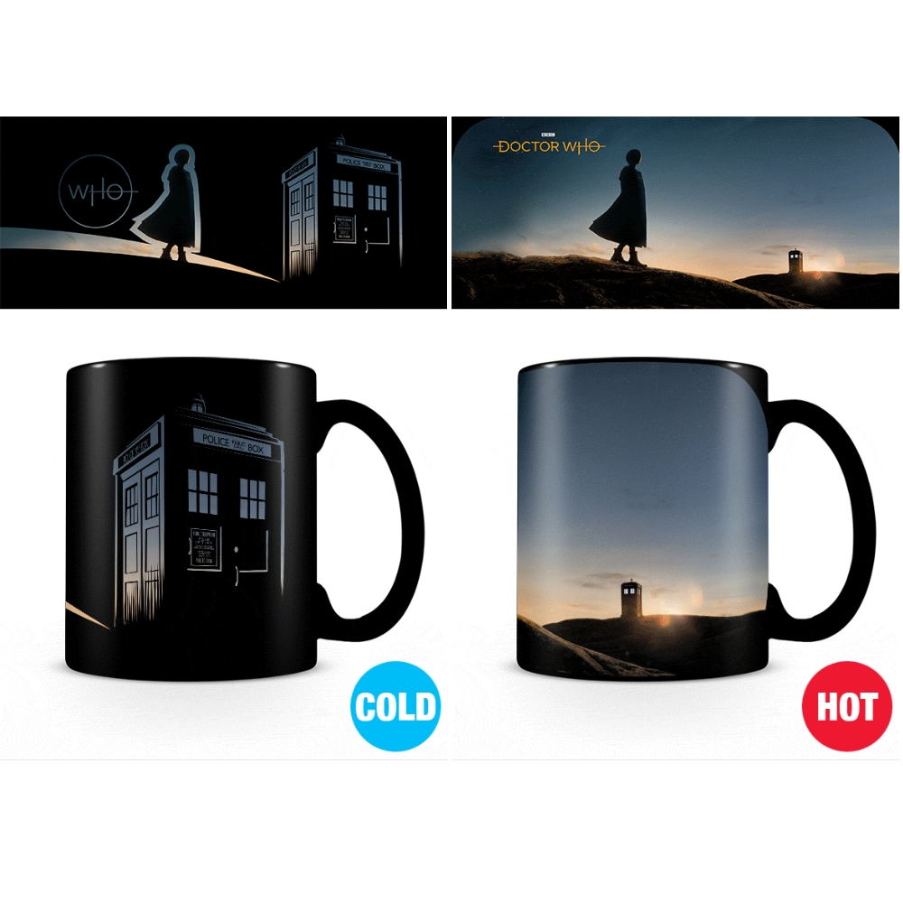 Doctor Who Heat Change Mug New Dawn Sparkle Gift