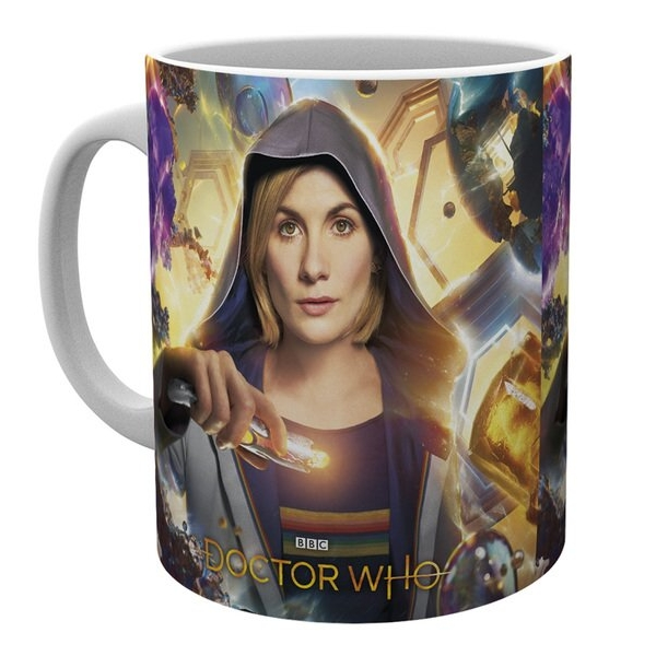 Doctor Who Boxed Mug Universe Calling Sparkle Gift